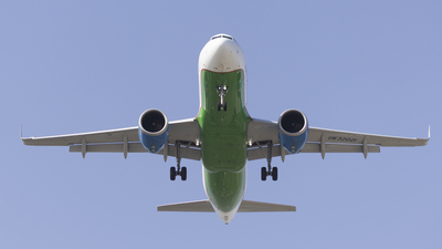 UK32021 - Airbus A320-251N - Uzbekistan Airways