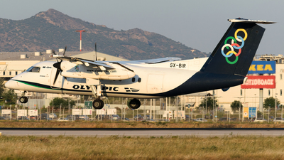SX-BIR - Bombardier Dash 8-102A - Olympic Air