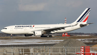 F-GZCN - Airbus A330-203 - Air France