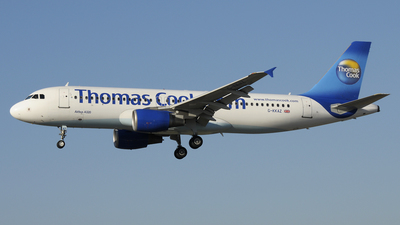 G-KKAZ - Airbus A320-214 - Thomas Cook Airlines