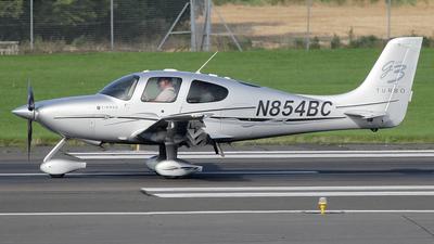 N854BC - Cirrus SR22-GTS G3 Turbo - Private