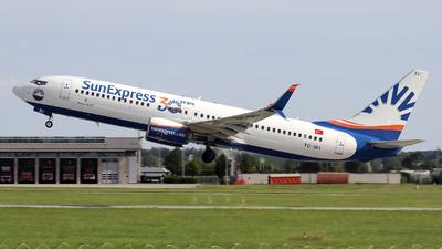 A picture of TCSEI - Boeing 7378HC - SunExpress - © Johannes Reichert
