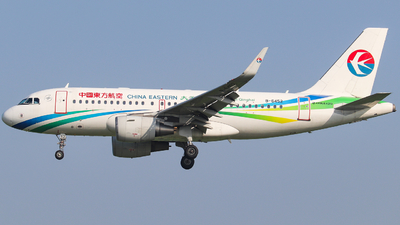 A picture of B6452 - Airbus A319115 - China Eastern Airlines - © AGUIJUN-Lei