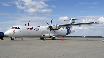 A picture of ECMAF - ATR 72500(F) - Swiftair - © Martin Bernict