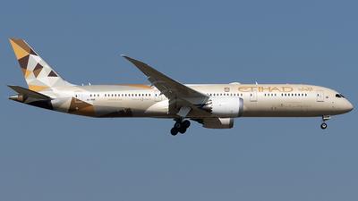 A picture of A6BNB - Boeing 7879 Dreamliner - Etihad Airways - © Maximilian Haertl