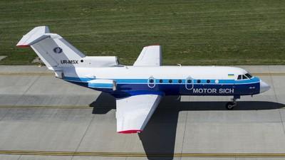 UR-MSX - Yakovlev Yak-40 - Motor Sich Airlines