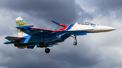 23 - Sukhoi Su-27UB Flanker C - Russia - Air Force