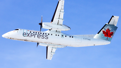C-FTAK - Bombardier Dash 8-311 - Air Canada Express (Jazz Aviation)