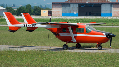 SE-KPF - Cessna T337G Super Skymaster - Private