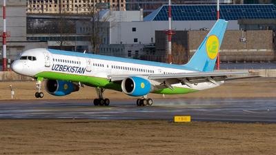 A picture of UK75704 - Boeing 757231 - Uzbekistan Airways - © ArCher