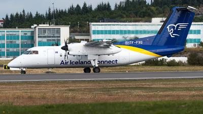 A picture of TFFXG - De Havilland Canada Dash 8200 - Icelandair - © Matteo Buono