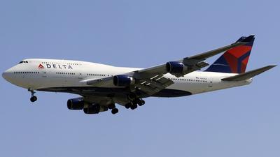 N663US - Boeing 747-451 - Delta Air Lines