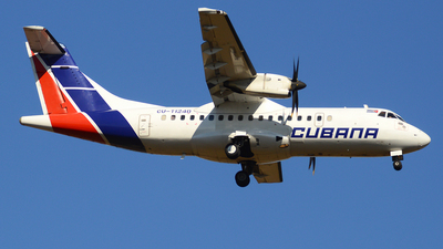 A picture of CUT1240 - ATR 42500 - Cubana - © Yueh Cathay