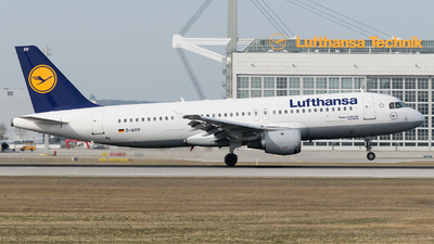 D-AIPP - Airbus A320-211 - Lufthansa