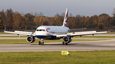 G-EUUS - Airbus A320-232 - British Airways