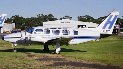 VH-MZF - Piper PA-31-350 Chieftain - Hazelton Airlines