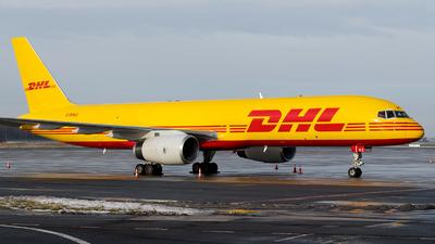 A picture of GDHKZ - Boeing 757236(PCF) - DHL - © Aleksander Kalinowski