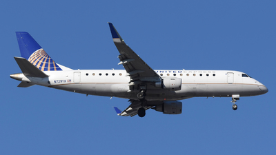 A picture of N729YX - Embraer E175LR - United Airlines - © DJ Reed - OPShots Photo Team