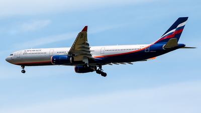 VQ-BPK - Airbus A330-343 - Aeroflot