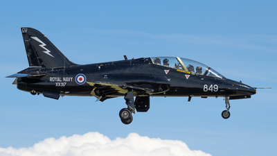 XX317 - British Aerospace Hawk T.1A - United Kingdom - Royal Navy