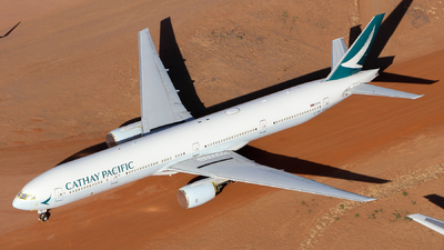 A picture of BHNW - Boeing 77731H - Cathay Pacific - © CATHAY246