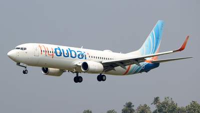 A picture of A6FEJ - Boeing 7378KN - FlyDubai - ©  Rohit  Ramachandran