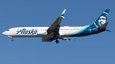 A picture of N440AS - Boeing 737990(ER) - Alaska Airlines - © Yixin Chen
