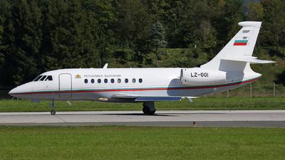 LZ-OOI - Dassault Falcon 2000EX - Bulgaria - Government
