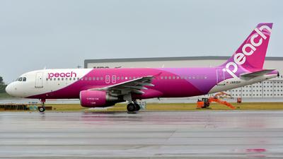 JA805P - Airbus A320-214 - Peach Aviation