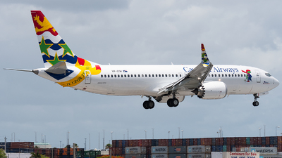 A picture of VPCIW - Boeing 737 MAX 8 - Cayman Airways - © bill wang