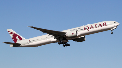 A7-BEU - Boeing 777-3DZER - Qatar Airways