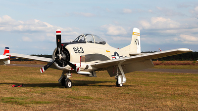 N377WW - North American T-28B Trojan - Private