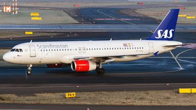 OY-KAL - Airbus A320-232 - Scandinavian Airlines (SAS)