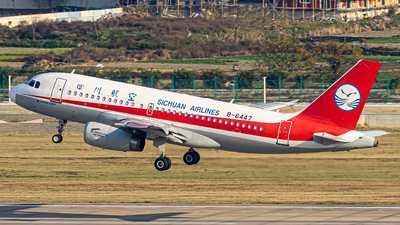 A picture of B6447 - Airbus A319133 - Sichuan Airlines - © Austin_SA