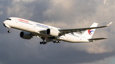 F-WZNS - Airbus A350-941 - China Eastern Airlines