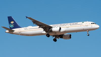 HZ-ASR - Airbus A321-211 - Saudi Arabian Airlines