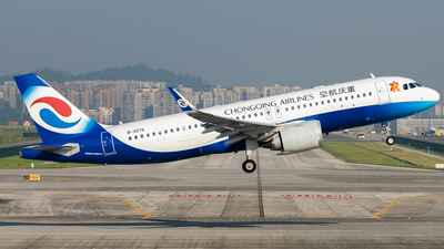 B-307S - Airbus A320-251N - Chongqing Airlines