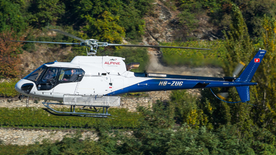 HB-ZUG - Eurocopter AS 350B3 Ecureuil - Alpine Helicopters