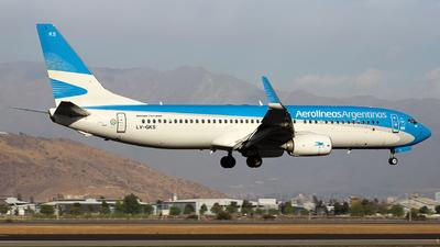 LV-GKS - Boeing 737-887 - Aerolíneas Argentinas