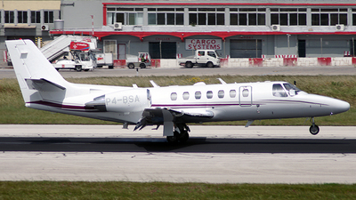 P4-BSA - Cessna 560 Citation Ultra - Brownstone Aviation