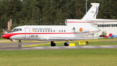 T.18-2 - Dassault Falcon 900B - Spain - Air Force