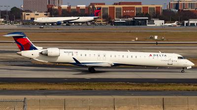 A picture of N292PQ - Mitsubishi CRJ900LR - Delta Air Lines - © Devon McCune