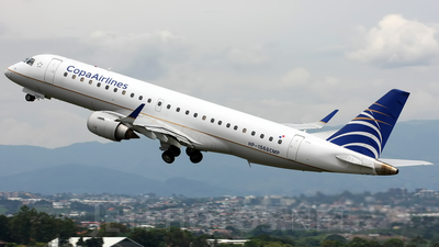 HP-1568CMP - Embraer 190-100IGW - Copa Airlines