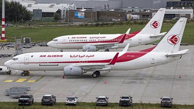 A picture of 7TVJJ - Boeing 7378D6(BCF) - Air Algerie - © Bjorn van der Velpen