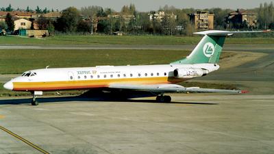 LZ-TUL - Tupolev Tu-134A-3 - Hemus Air