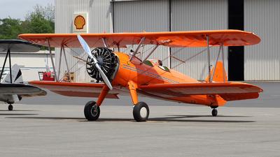 A picture of N27WE - BoeingStearman Model 75 - [756651] - © wangruoyao