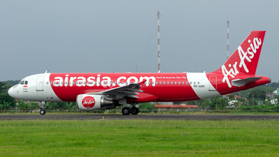 A picture of PKAXH - Airbus A320216 - AirAsia - © Devin Agastya