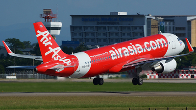 A picture of HSBBI - Airbus A320216 - AirAsia - © SOMPOL JUNLAMART