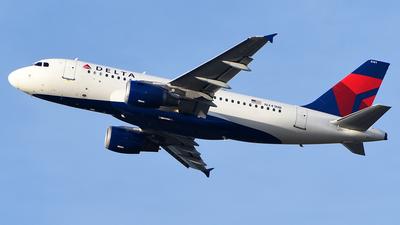 N341NB - Airbus A319-114 - Delta Air Lines