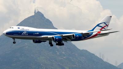G-CLAB - Boeing 747-83QF - CargoLogicAir